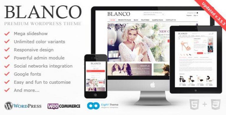 Blanco – Responsive WordPress E-Commerce Theme - Gpl Pulse