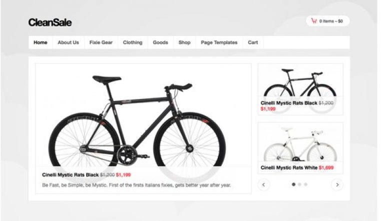 OboxThemes CleanSale WooCommerce Themes - Gpl Pulse