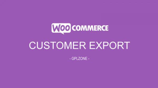 WooCommerce Order/Customer CSV Export - Gpl Pulse