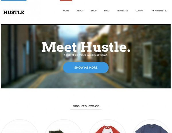 WooThemes Hustle WooCommerce Themes - GPl Pulse