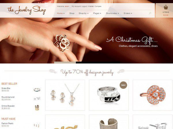 YITH The Jewelry Shop Premium WooCommerce Themes - Gpl Pulse