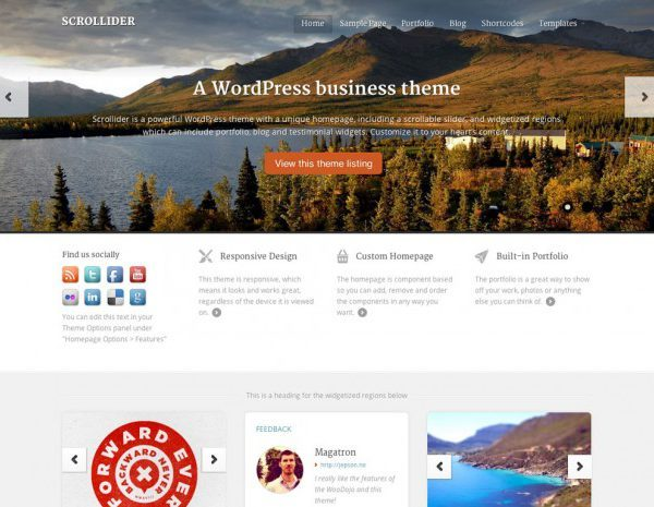 WooThemes Scrollider WooCommerce Themes - Gpl Pulse