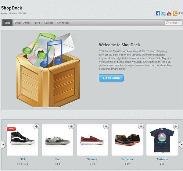 Themify ShopDock WooCommerce Themes - GPl Pulse
