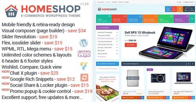 Home Shop – WooCommerce Theme - Gpl Pulse