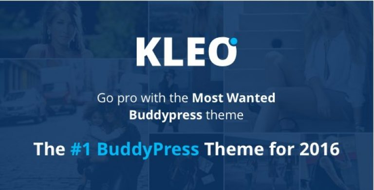 KLEO – Pro Community Focused Multi-Purpose BuddyPress Theme - Gpl Pulse