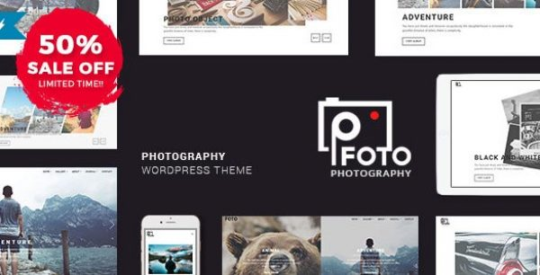 Foto – Photography WordPress Themes for Photographers - Gpl Pulse