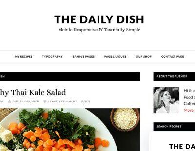 StudioPress Daily Dish Pro Theme - Gpl Download