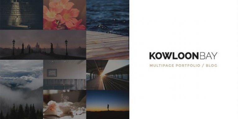KowloonBay – Multipage Portfolio / Blog WP Theme - Gpl Pulse