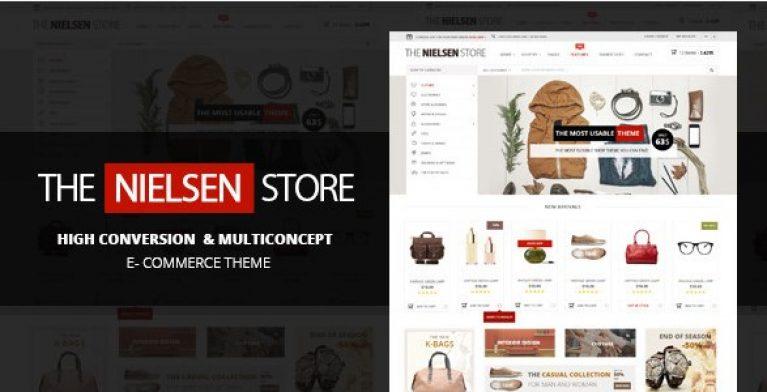 Nielsen – E-commerce WordPress Theme - Gpl Pulse
