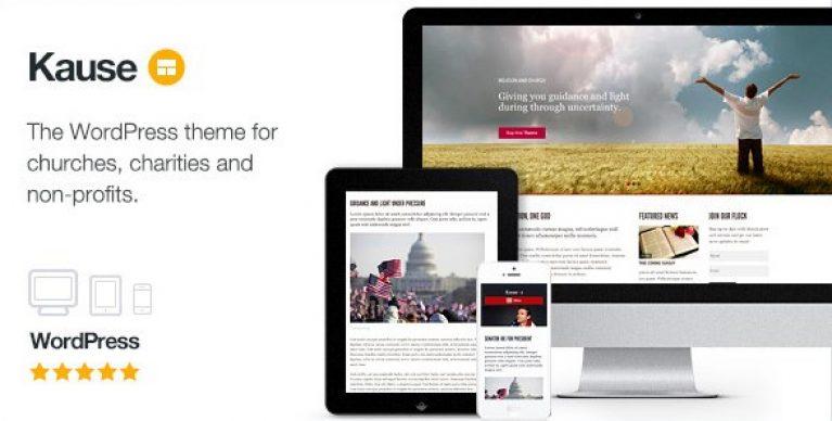 Kause – Multi Purpose WordPress Theme - Gpl Pulse