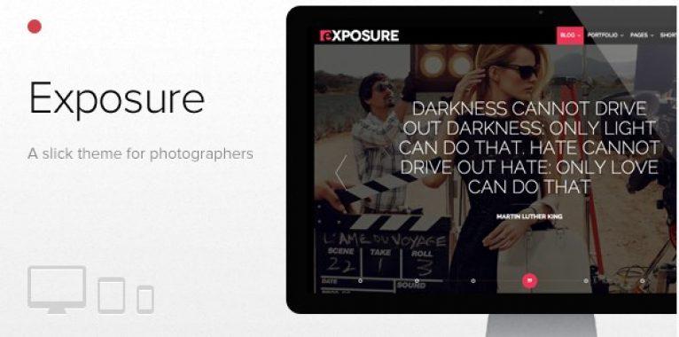 Exposure – Fullscreen Responsive Photography Theme - Gpl Pulse