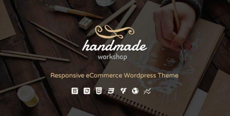 Handmade – Shop WordPress WooCommerce Theme - Gpl Pulse