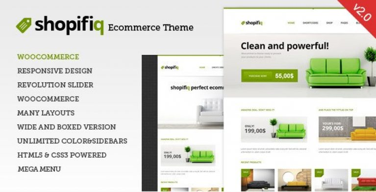 Shopifiq – Responsive WordPress WooCommerce Theme - Gpl Pulse