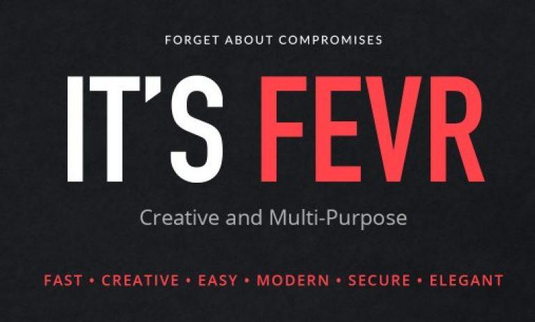 Fevr – Creative MultiPurpose Theme - Gpl Pulse