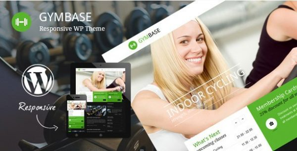 GymBase – Responsive Gym Fitness WordPress Theme - Gpl Pulse