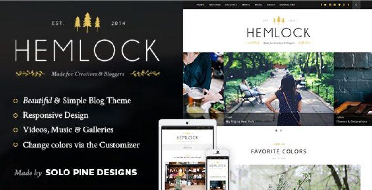 Hemlock – A Responsive WordPress Blog Theme - Gpl Pulse