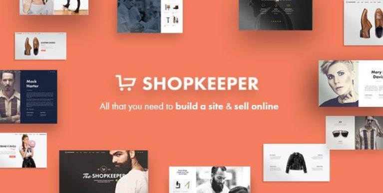Shopkeeper – eCommerce WP Theme for WooCommerce - Gpl Pulse