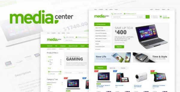 MediaCenter – Electronics Store WooCommerce Theme - Gpl Pulse