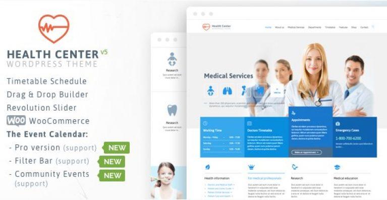 Medical & Dentist – Medical WordPress - Gpl Pulse