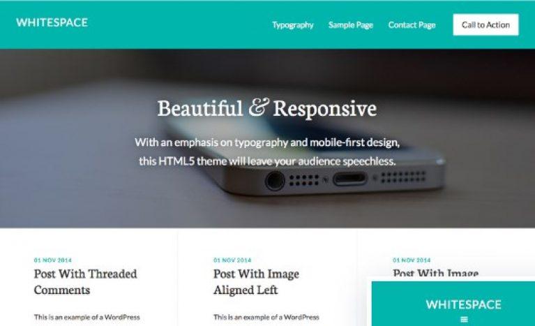 StudioPress Whitespace Pro Theme - Gpl Download