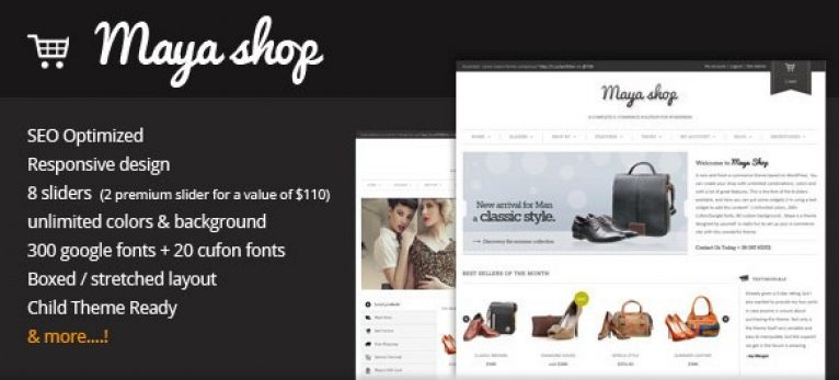MayaShop – A Flexible Responsive e-Commerce Theme - GPl Pulse