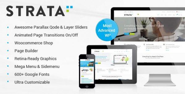 Strata – Professional Multi-Purpose Theme - Gpl Pulse