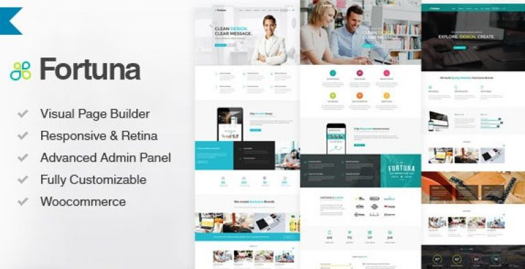 Fortuna – Responsive Multi-Purpose WordPress Theme - Gpl Pulse