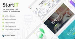 Startit – A Fresh Startup Business Theme - Gpl Pulse