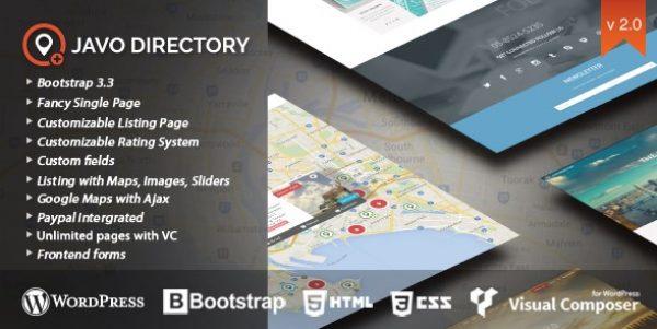 Javo – Directory WordPress Theme - Gpl Pulse