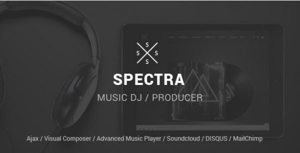 Spectra – WordPress Music & Events Theme - Gpl Pulse