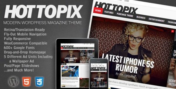 Hot Topix – Modern WordPress Magazine Theme - Gpl Pulse