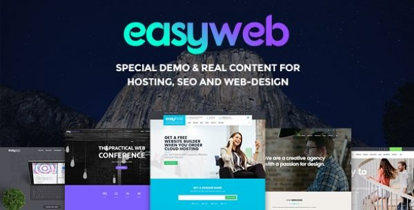 EasyWeb – WP Theme For Hosting and Web-design Agencies - Gpl Pulse