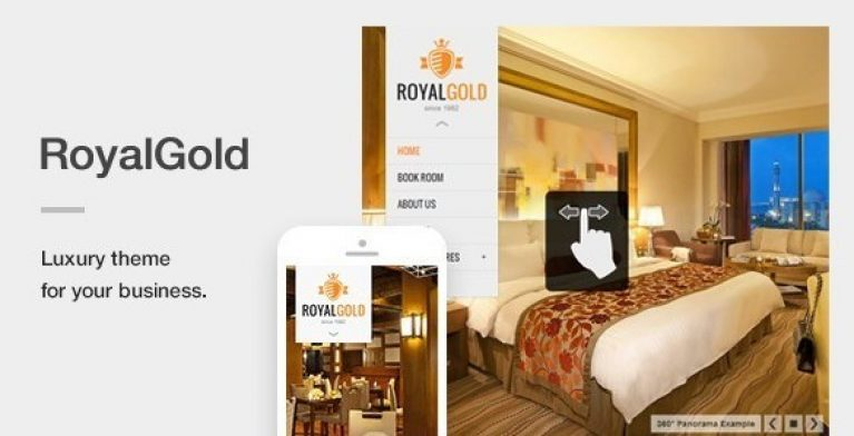 RoyalGold – A Luxury Responsive WordPress Theme - Gpl Pulse