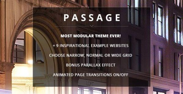 Passage – Responsive Retina Multi-Purpose Theme - Gpl PUlse