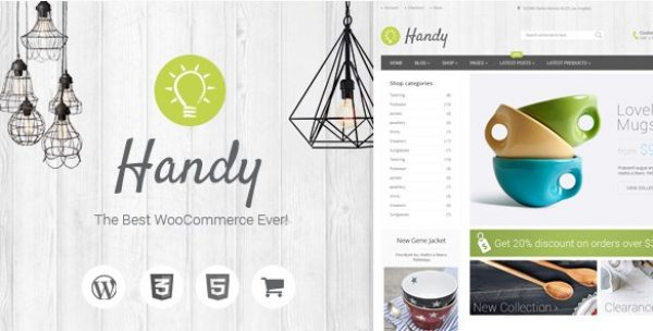 Handy – Handmade Shop WordPress WooCommerce Theme - Gpl Pulse