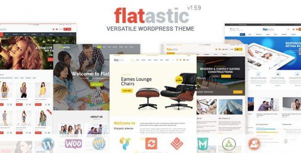 Flatastic – Versatile WordPress Theme - Gpl Pulse