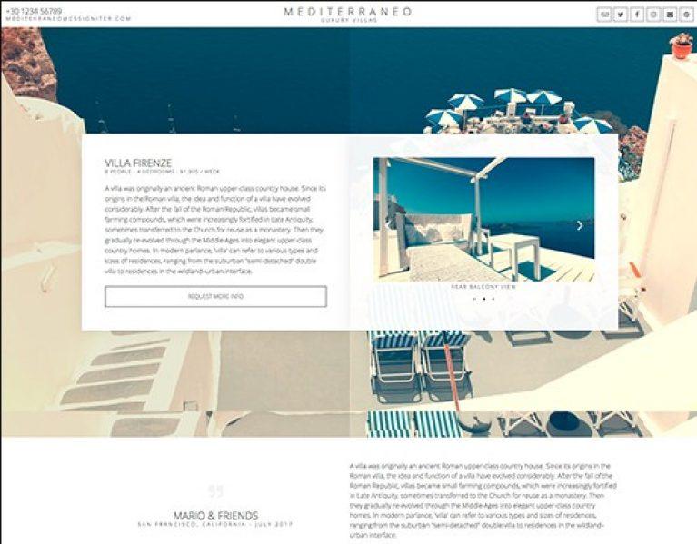 Elementorism Mediterraneo Landing Page - Gpl Pulse