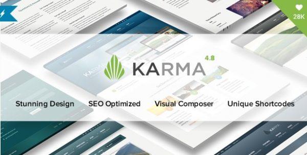 Karma – Responsive WordPress Theme - Gpl Pulse