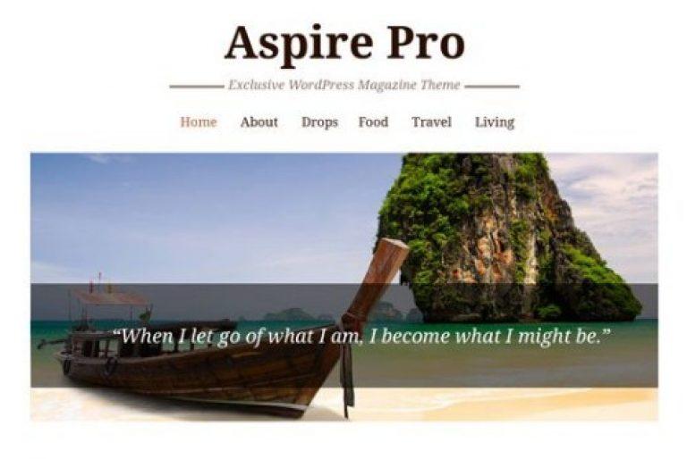CyberChimps AspirePro WordPress Theme - Gpl Pulse