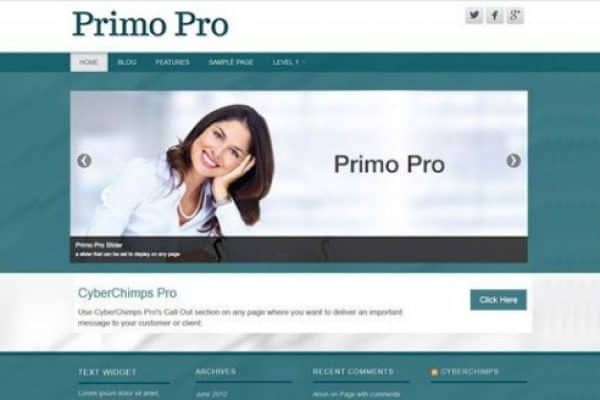 CyberChimps Primo Pro WordPress Theme - Gpl Pulse