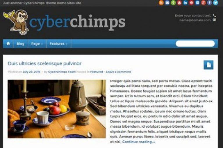 CyberChimps iFeature Pro 5 WordPress Theme - Gpl Pulse