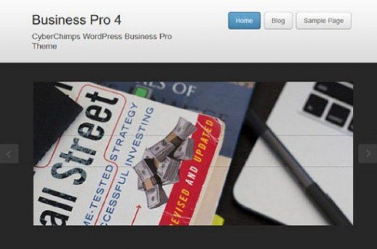 CyberChimps Business Pro 4 WordPress Theme - Gpl Pulse