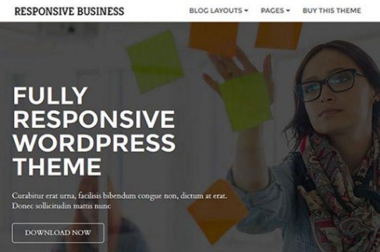 CyberChimps Responsive Business WordPress Theme - Gpl Pulse