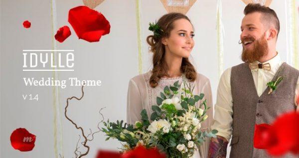 Idylle – Responsive Wedding Theme - Gpl Pulse