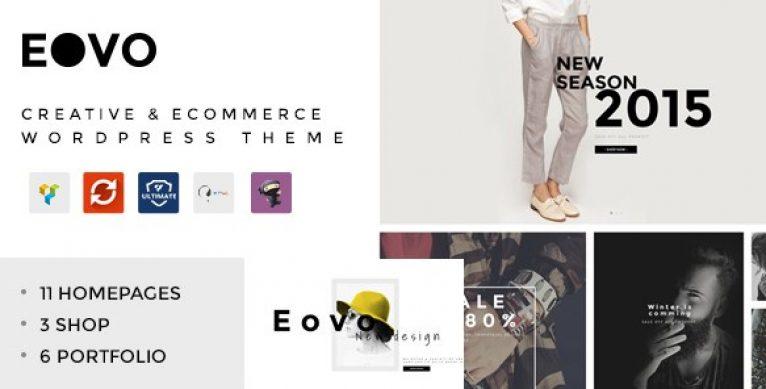 EOVO – Creative & eCommerce WordPress Theme - Gpl Pulse