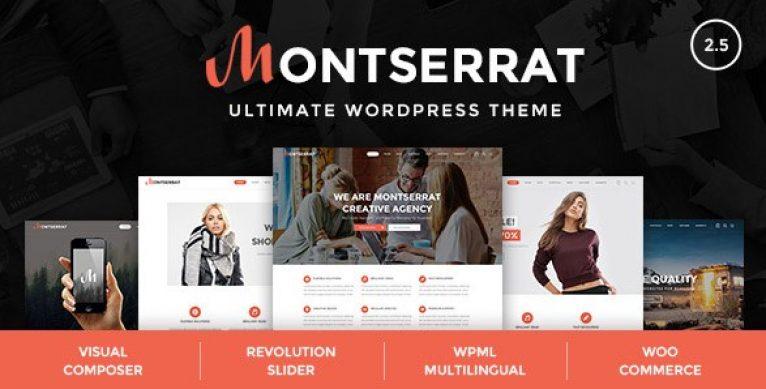 Montserrat – Multipurpose Modern WordPress Theme - Gpl Pulse