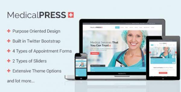 MedicalPress – Health and Medical WordPress Theme - Gpl Pulse