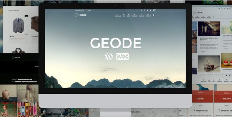 Geode Elegant eCommerce Multipurpose Theme - Gpl Pulse