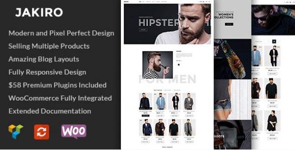 Jakiro – Fashion Shop WordPress Theme - Gpl Pulse