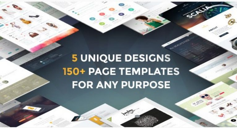 Scalia – Multi-Concept Business Shop One-Page Blog Theme - Gpl Pulse